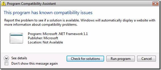 How to install ASP NET 1 1 with IIS7 on Windows 2008