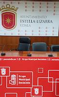 Los socialistas de Estella-Lizarra continuamos nuestro trabajo municipal con nuevas propuestas