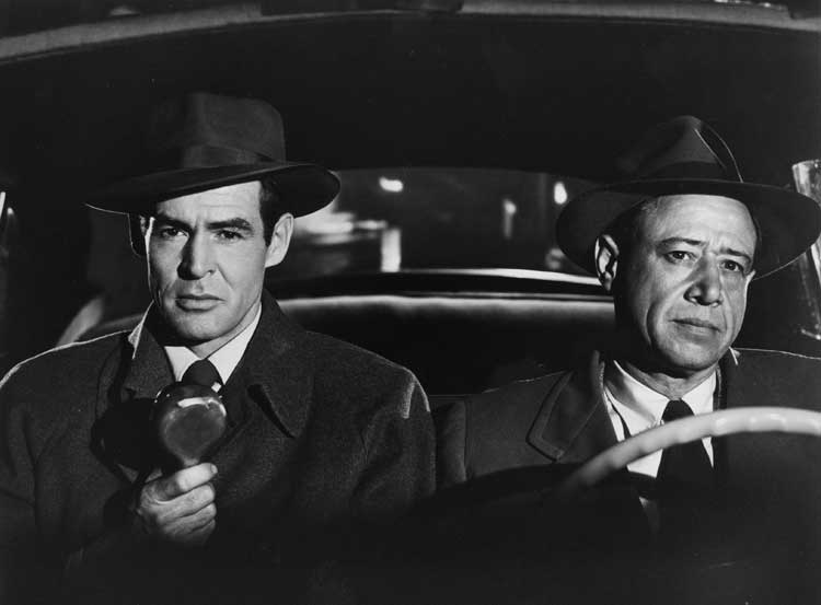 Robert Ryan stars as Jim Wilson in Nicholas Ray's On Dangerous Ground.