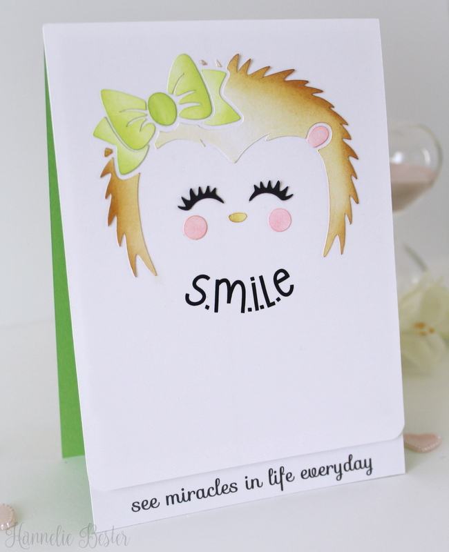 Cute hedgehog cut file from Apex Cuttables