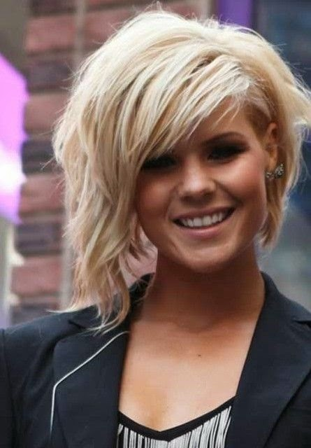 Short Hair with Side Bangs 2014 - Fashionable Short Hairstyles