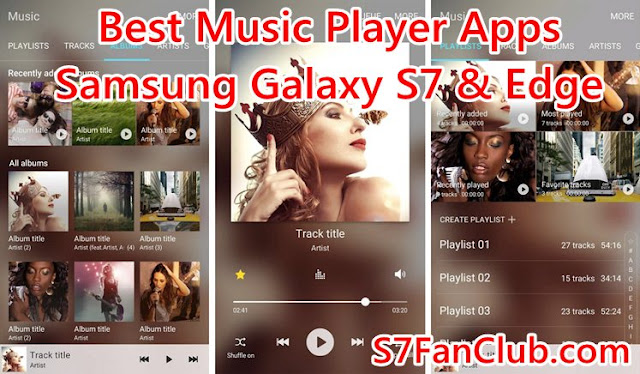 Top 5 Best Galaxy S7 Music Player Apps Download