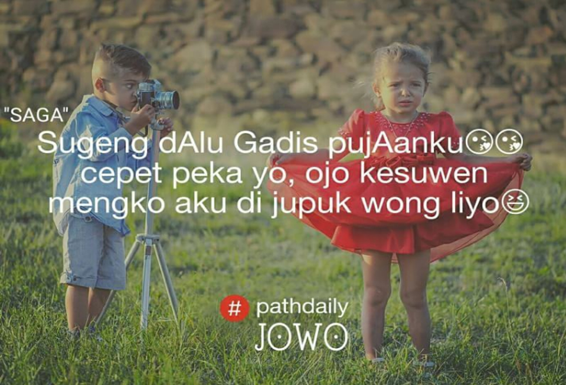 50 Gambar Quotes Kata Kata Pathdaily Jowo Baper Tentang Cinta