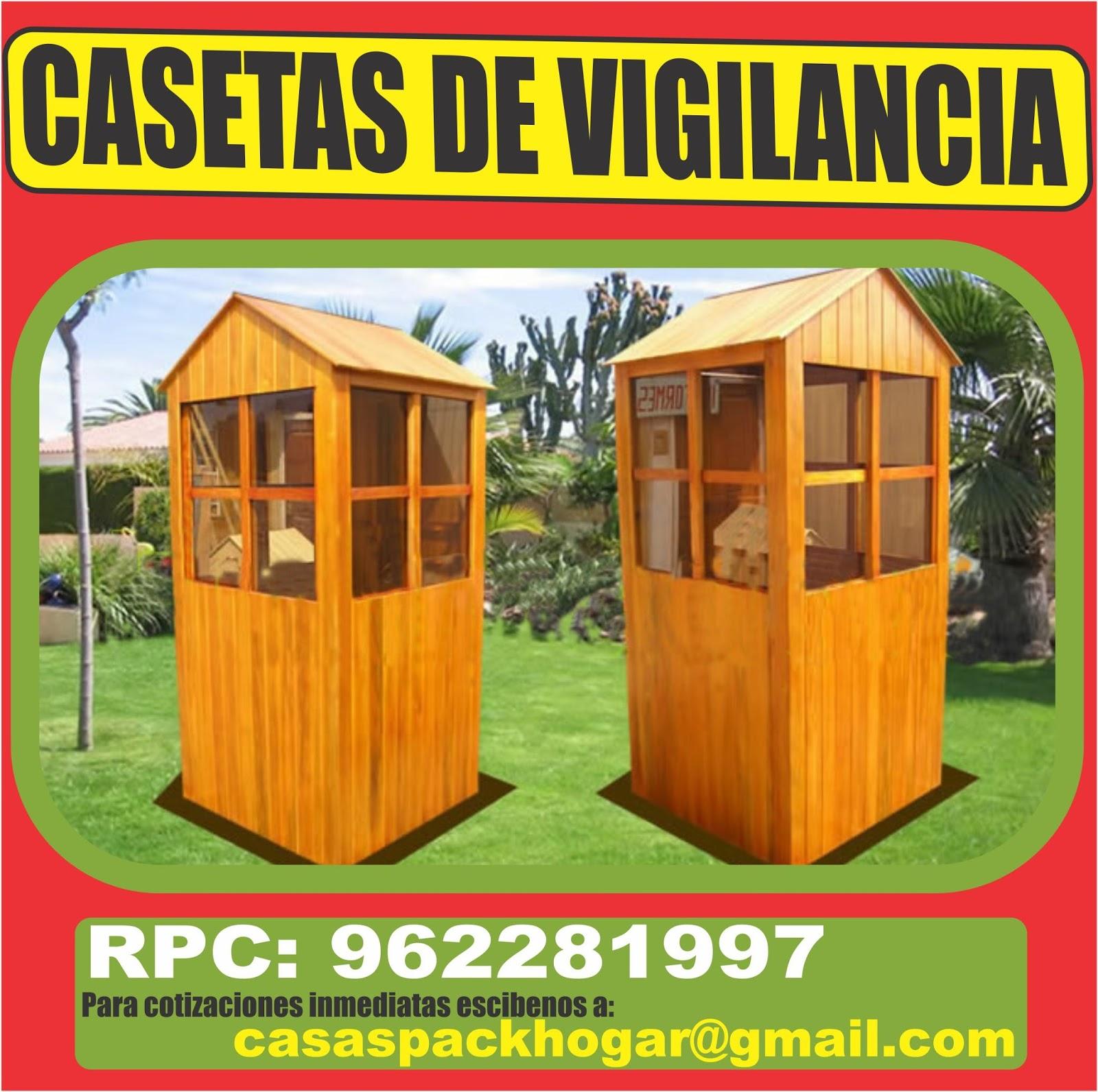 Mas de 33 caseta de vigilancia prefabricadas per for Casetas obra baratas
