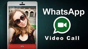 whatsapp video call on whatsapp
