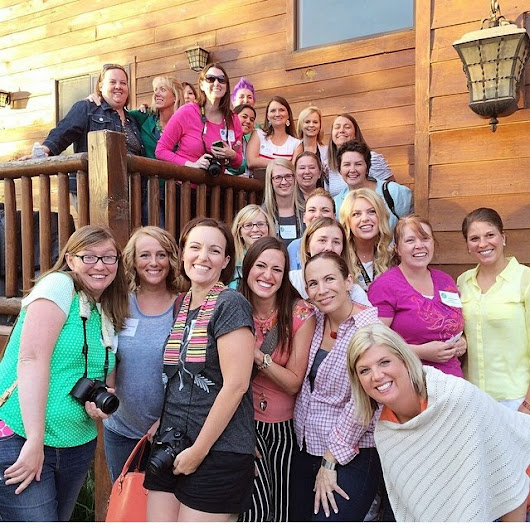 40+ bloggers + the great outdoors= One amazing weekend