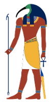 Thoth ancient Egypt gods and goddesses cheatsheet