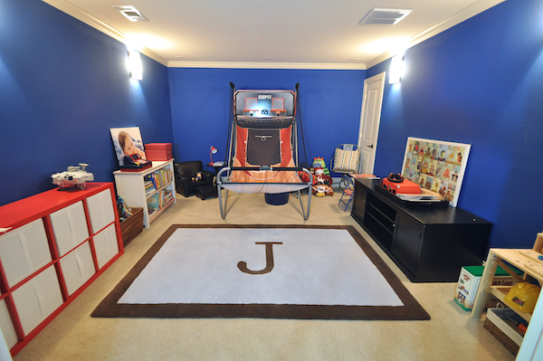 Playroom Paint Makeover Iron Ore Sherwin Williams Honey We Re