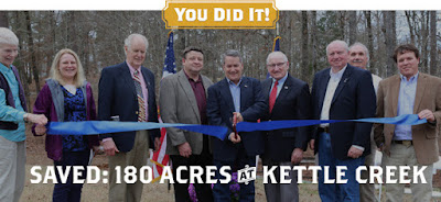 Saved: 180 Acres at Kettle Creek