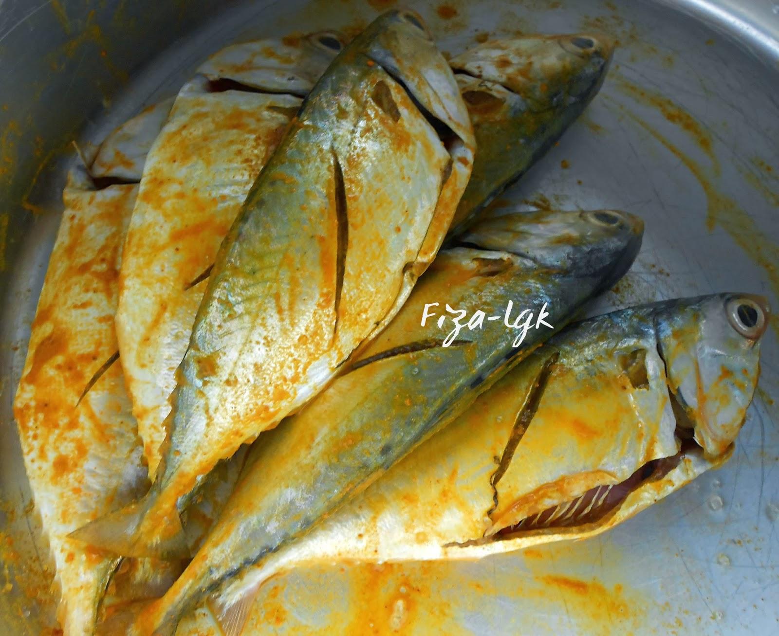 Resepi Ikan Bakar Pedas - Surasmi S