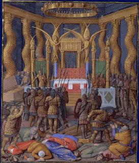 Pompeyo profana el templo de Jerusalen