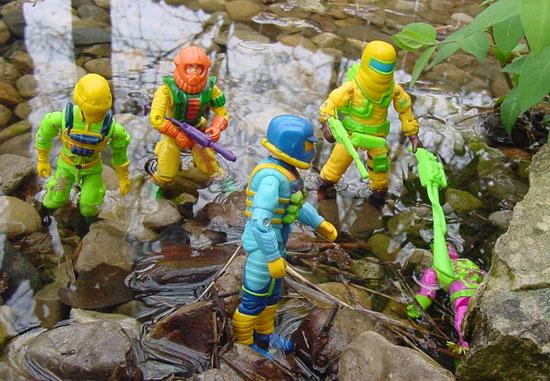 1991 Clean Sweep, Eco Warriors, Flint, Ozone, Toxo Zombie, Biomassa, Brazil, Estrela, Eco Warriors Maverick, Forca Eco