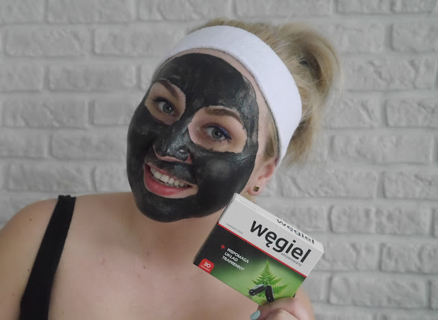 DIY - Maska węglowa
