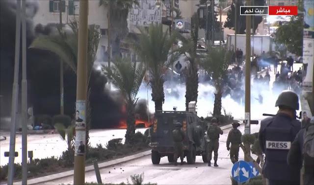 Puluhan Rakyat Palestina Terluka Akibat Tindakan Represif Pasukan Zionis