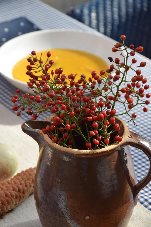 Wolkenfees k chenwerkstatt k rbis quitten suppe hello herbst for Herbstdeko kurbis