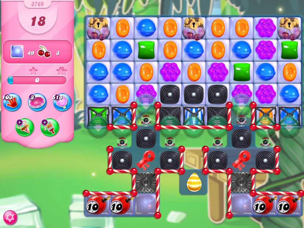 Candy Crush Saga level 3769