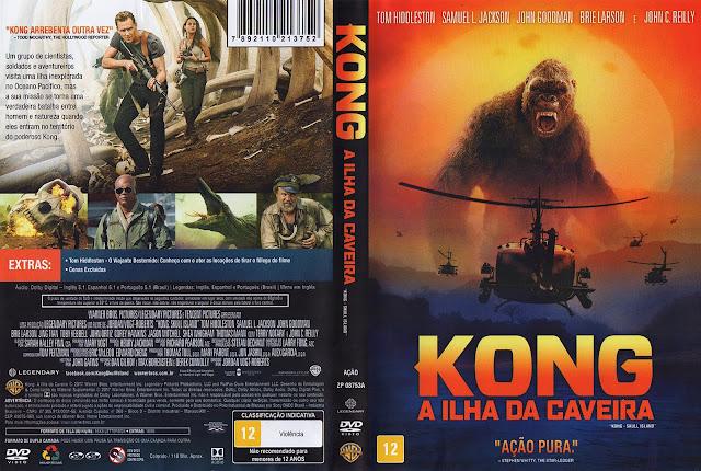 Capa DVD Kong A Ilha da Caveira (Oficial)