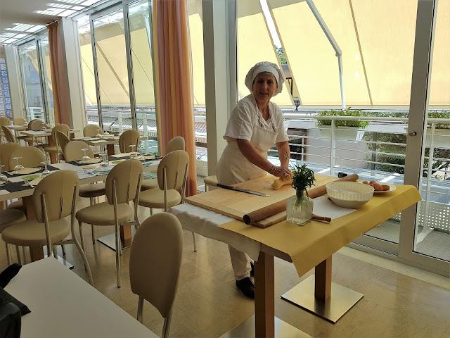 hotel san salvador bellaria cucina
