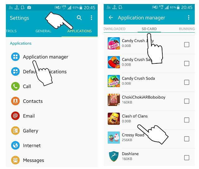 Smartphone Android mempunyai ukuran memori internal yang bermacam macam mulai dari  Cara Memindahkan Data Aplikasi dan Game Ke Memori Eksternal Tanpa Root
