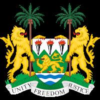 Logo Gambar Lambang Simbol Negara Sierra Leone PNG JPG ukuran 200 px