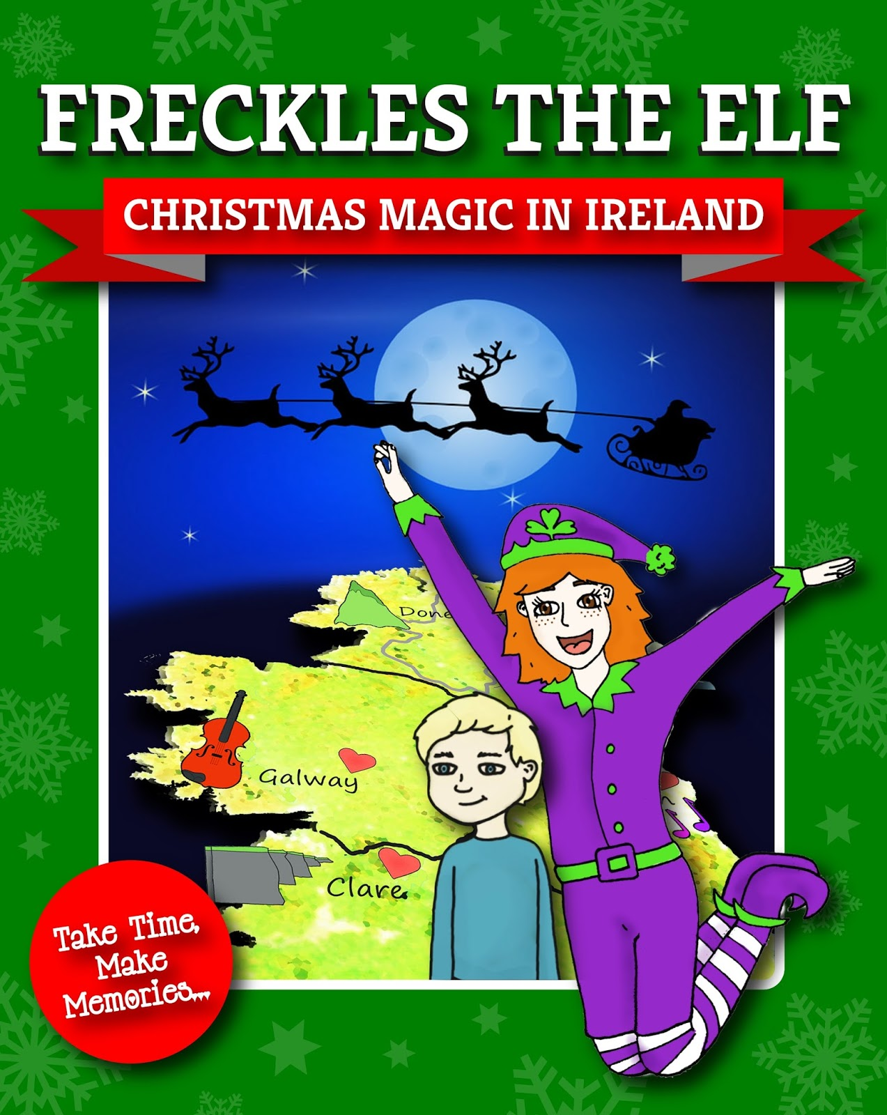 Freckles The Elf Christmas Magic In Ireland