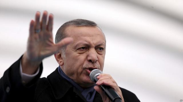 Recep Tayyip Erdogan, MichellHilton, Abismo