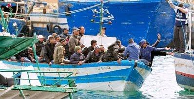 Lampedusa refugees #16