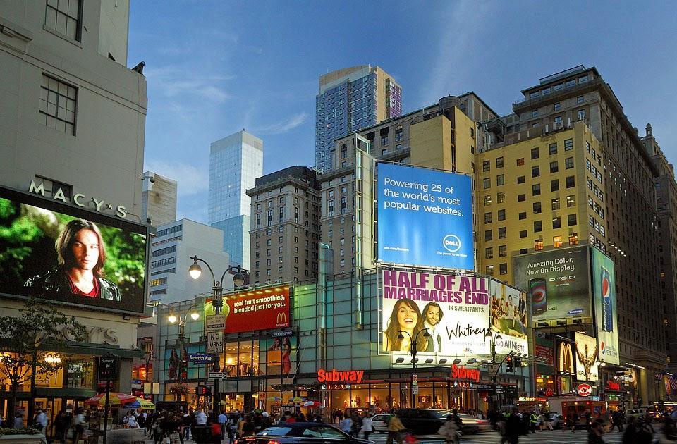 2e4299683cc Compras na 34th street em Nova York
