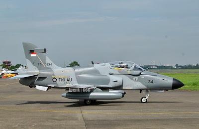 Hawk 209 TNI AU (photo : ipenk)