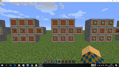 minecraft crafting kőfal