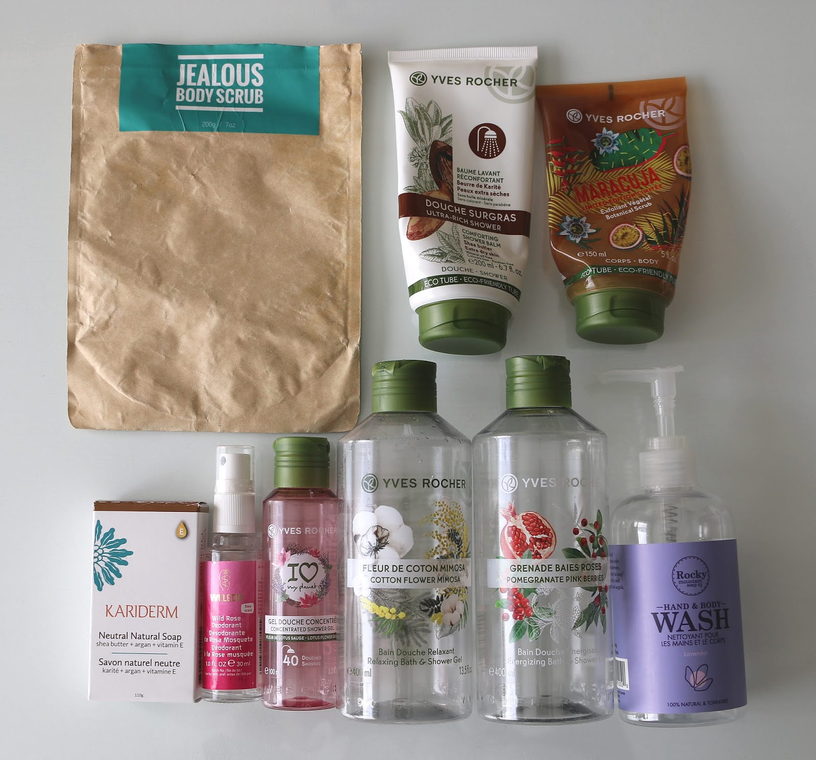 beauty empties body care