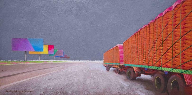 """""""The Road"""", Adel Mostafa en la Zamalek Art Gallery"""