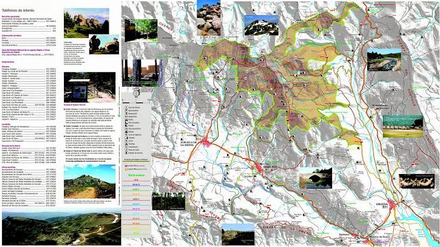 Folleto / Mapa de la Laguna Negra