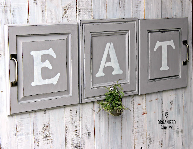 Farmhouse Style Cabinet Decor Sign