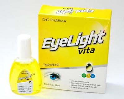 Thuốc nhỏ mắt Eyelight vita của dược Hậu Giang