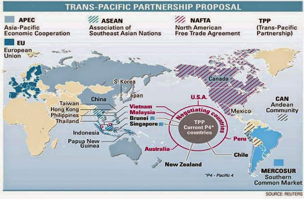 controversial trans pacific partnership agreement - 610×400