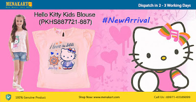Hello Kitty Kids Blouse (PKHS887721-887)