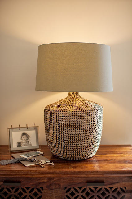 Fair trade lighting - Java Large Seagrass Lamp