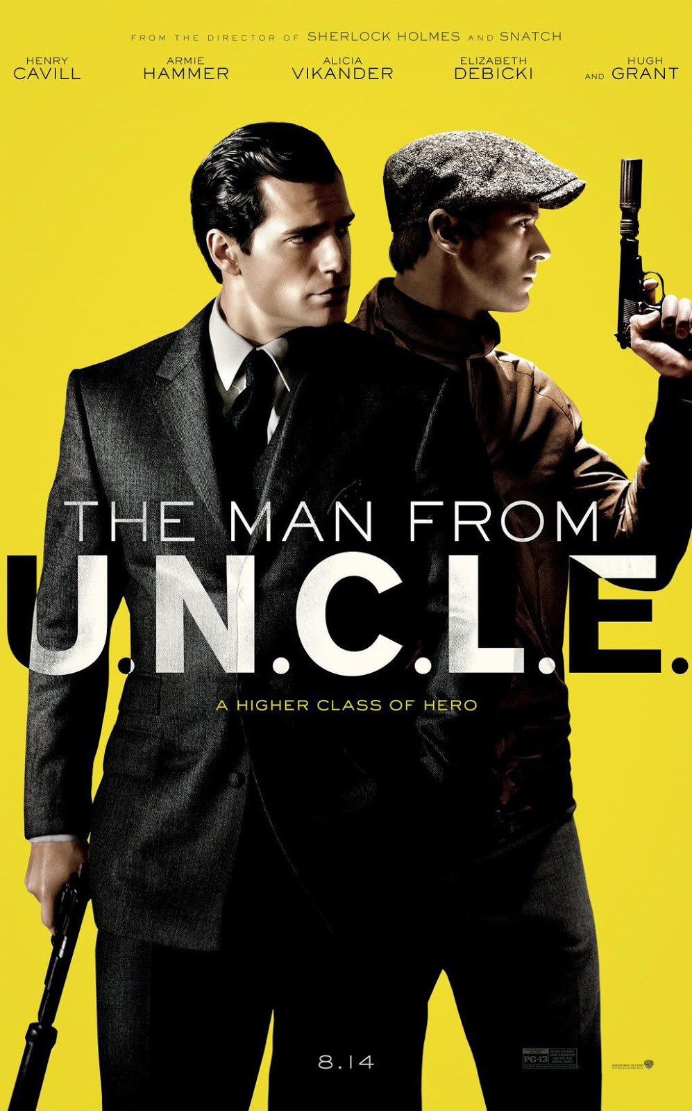 man frome uncle trailer poster