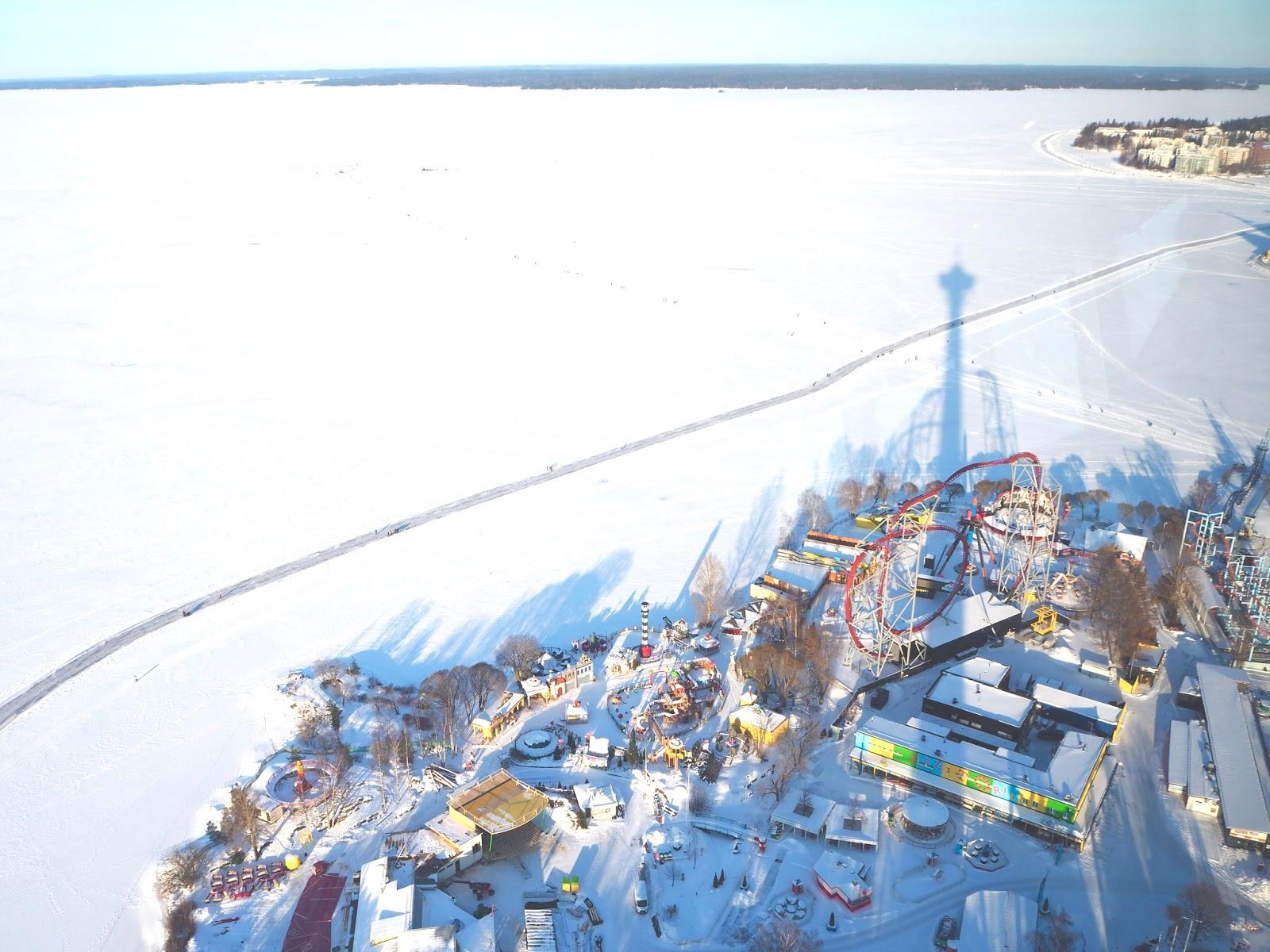 Maiseman Tampereen Näsinneulasta