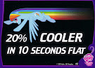 My Little Pony 20% Cooler In 10 Seconds Flat Trading Cards