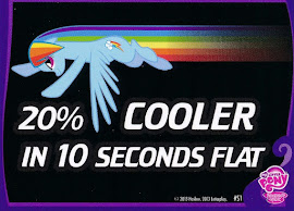 My Little Pony 20% Cooler In 10 Seconds Flat Series 2 Trading Card