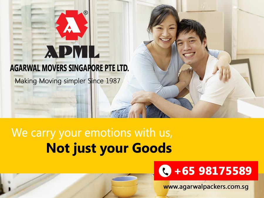 Agarwal Movers Singapore Pte  Ltd Blog: Design your Relocation with