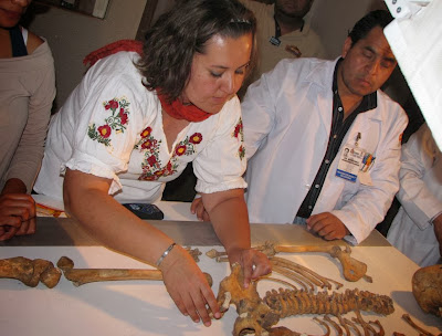 Forensic study of Mixtec woman reveals life of pain and hard work