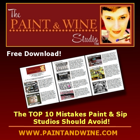 how to start a sip paint business wine painting