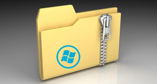 Windows 10 Dosya Ve Klasörler Yazılımsız Nasıl Sıkıştırılır
