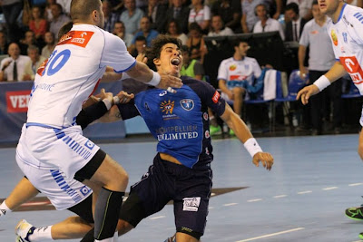 Gran debut de Diego Simonet en Montpellier - VIDEO | Mundo Handball