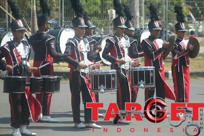 Drum Band Dan Lomba Lukis Umum Menjadi Ajang Kompetisi Komsos TNI Dan Rakyat