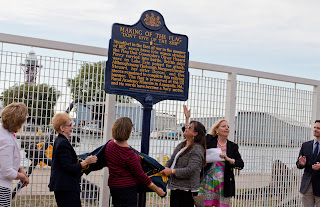 Marker_dedication_Erie_Maritime_Museum