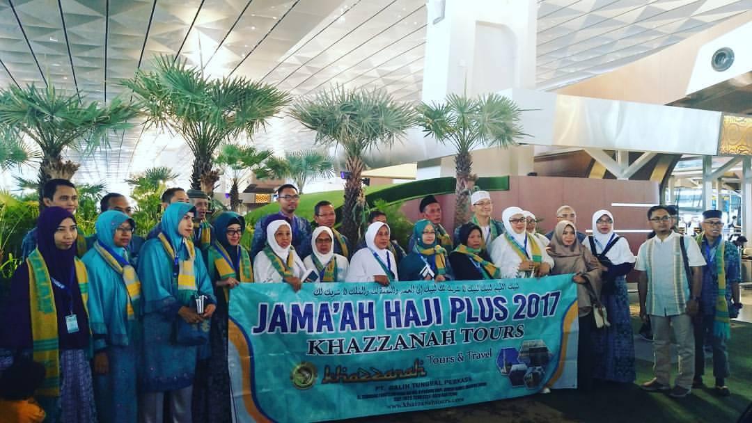 Jamaah Haji Plus Khazzanah Travel